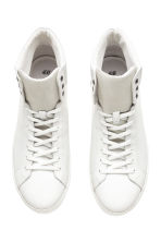 Hi-top trainers - White - Men | H&M 2